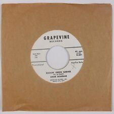 STEVE DOUGLAS: Had / Rockin' Green Sleeves GRAPEVINE Rockabilly PROMO 45 NM
