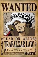 One Piece WANTED Poster (26 x 40 cm) - TRAFALGAR LAW – Last Bounty!