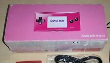 Nintendo Game Boy Micro Console Pink boxed