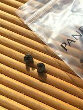 Genuine Pandora Rubber Locks / Clip Stoppers Charm x4 Pcs (2x Pairs)