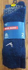 M&S 2pk Men's Wool Blend Socks 6-8.5