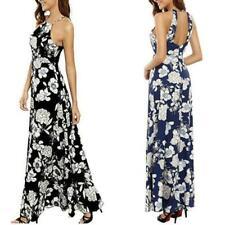 Robes avec des motifs noirs Floral pour femme
