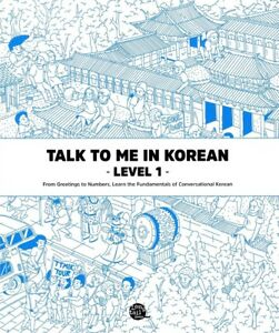 Talk To Me In Korean Level 1 Book Hangul Grammar Beginner Textbook TTMIK