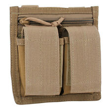 Bulldog MOLLE Military Army Mil-Spec Double 40mm UGL Grenade Pouch Coyote Tan