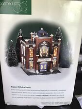 Dept 56 Christmas In The City - Precinct 25 Police Station 58941 Retired - Mint