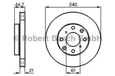 Bremsscheibe (2 Stück) - Bosch 0 986 478 115