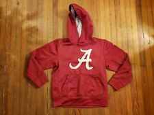 Alabama Crimson Tide Nike Therma-Fit Red Hooded Sweatshirt Boy's Size S
