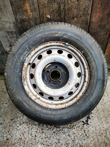 CITROEN DISPATCH MK2 2007 - 2016 SPARE WHEEL AND TYRE WITH 8MM TREAD 215 65 R15C