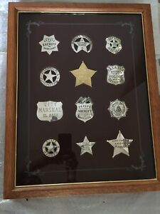 OFFICIAL BADGES OF GREAT WESTERN LAWMEN by Franklin Mint