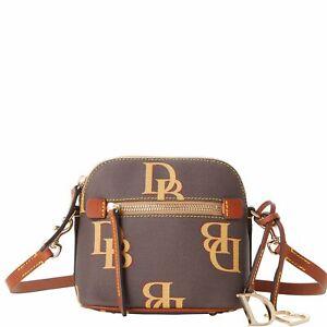 Dooney & Bourke Monogram Mini Domed Crossbody Shoulder Bag