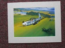 Craig Kodera Aircraft print 'Gone Huntin' MOUNTED