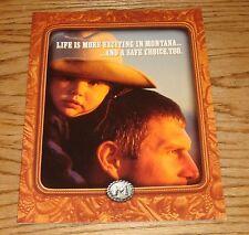 Original 2001 Pontiac Montana Sales Brochure 01