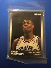 1990 Star Co. David Robinson Spurs 11 Card Set Sealed