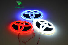 3 Colors Car LED Badge Light Car Led Emblem Car Logo For TOYOTA 16.0cm X 11cm