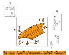AUDI OEM 13-16 A5 Quattro Splash Shield-FR Under Radiator/Engine Cover 8K1863821