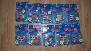Authentic Littlest Pet Shop   Hasbro New 10 Box