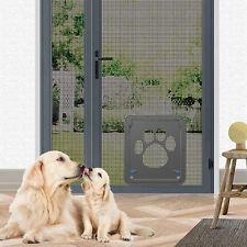 37x42cm Large Medium Dog Cat Pet Door Screen Window ABS Magnetic Auto    !