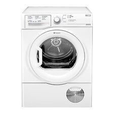 Hotpoint TCFS83BGPUK Condenser Dryer, 8 kg Drying Capacity - White