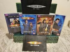 More details for dr doctor who series 1 - 4 complete dvd 2009 collectable box set & episode guide