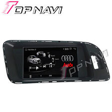 Quad Core Android Car Stereo Player For Audi Q5 A4 A5 GPS Navigation Bluetooth