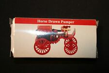 Vintage Replica Horse Drawn Pumper Fire Truck