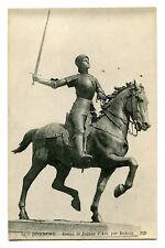 CPA 88 Vosges Domrémy Statue de Jeanne d'Arc