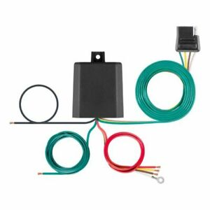 Curt 56236 Multi-Function Splice-in Tail Light Converter 4-Pin Wire Harness NEW
