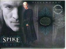Buffy Tvs - Spike Tcs - James Marsters As Spike Wardrobe Card - #Pw1