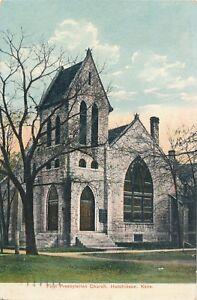 HUTCHINSON KS – First Presbyterian Church - 1907