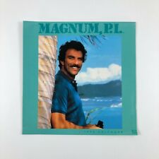 Vintage 1990 Magnum PI Calendar Tom Selleck