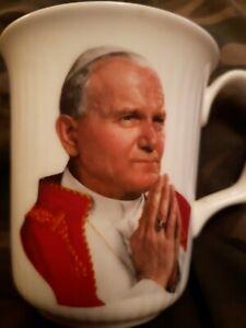 Royal Albert Bone China Pope John Paul II Mug visit to the UK 1982 CupRARE