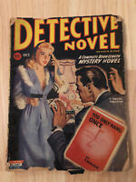 Vintage Detective Novel Pulp Fiction Mystery You Only Hang Once HW Roden