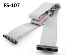 CablesOnline 84 inch HPDB68 Internal SCSI-3 68-Pin 7 Drive Ribbon Cable, FS-107