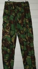 "BRITISH ARMY 1968 PATTERN DPM TROUSERS GREEN POST WW2 WWII HEAVY DUTY 30"" WAIST"