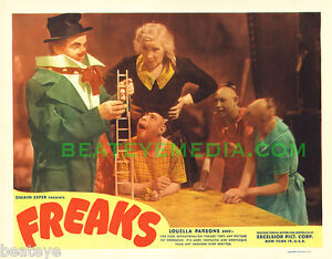 FREAKS MOVIE POSTER PRINT-SCIFI,HORROR,SIDESHOWS,CIRCUS-famous monsters-monsters