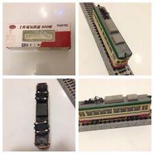 Modellismo dinamico: Tram Tomytec  scala N, motorizzato con chassis TM-TR01
