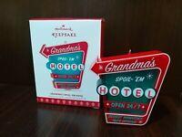 2017 Hallmark Ornament Grandma's Spoil Em Hotel
