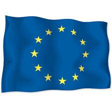 """EUROPEAN UNION Flag car bumper sticker decal 6"""" x 4"""""""