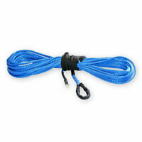"KFI SYN19-B50 50' 3/16"" 5000lb ATV UTV Synthetic Winch Rope Blue Warn Polaris"