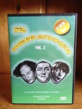 The Three Stooges 8 DVD Set VOL 2 Like New