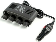 4 Way 12v Auto Power Socket Multiplicador Con Salida Usb