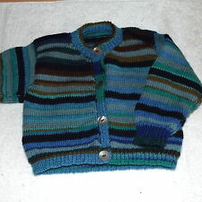 Handmade Wool Blend Clothing (0-24 Months) for Boys
