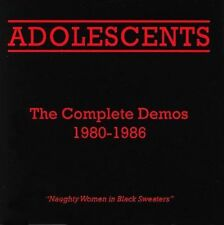 The Complete Demos 1980-1986 by Adolescents (CD, Mar-2005, Frontier Records)