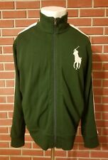 Polo by Ralph Lauren Retro Deadstock NWT Full Zip Big Pony Jacket Mens XL Green