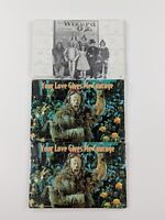 "Lot Of 3 Wizard Of Oz Puzzles 1997-1998 4"" x 6"""