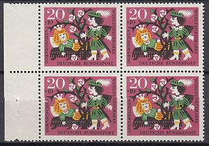 BRD 1964 Mi. Nr. 449 4er Block Postfrisch TOP!!! (26893)