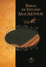 Biblia de Estudio MacArthur RVR 1960, Piel Italiana  (RVR 1960 MacArthur Study