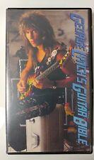 Video VHS - GEORGE LYNCH DOKKEN - Guitar Bible 1989 1999 (VG) WORLDWIDE