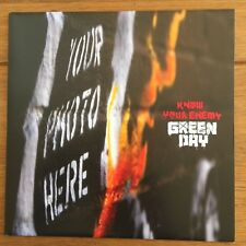 "Green Day - Know Your Enemy 7"" Vinyl Different Cover"