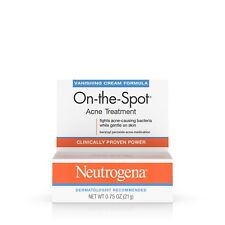 Neutrogena Vanishing Cream Formula On-The-Spot Acne Treatment Max Strength